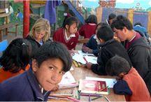 Volunteer Peru / Volunteer abroad in Peru - Pictures of our volunteers working at our projects in Peru  http://www.originalvolunteers.co.uk/destinations/americas/peru-cuzco.html