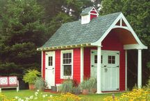 Garden Sheds and Campers / by Lou Ann Craig