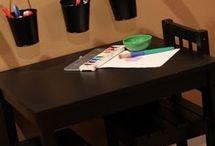 Play room organization  / by Ashley Northcutt