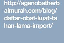 Daftar Nama Obat Kuat dan Obat Tahan Lama Pria