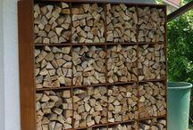 fa tároló