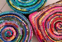 Plastic Bags recycle rugs