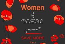 ESL for Women / The new ESL now stands for Earn, Save & Live!