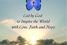 """Inspirational Book / """"'Inspired Blessings' Led by God to Inspire the World with Love, Faith and Hope"""" by Jean Marie Prince Hardcover Book and Softcover Books © 2013 Copyright JeanMariePrince.com All Rights Reserved."""