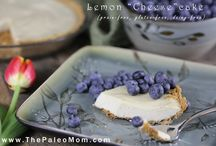 Cleaner healthier eating- 'cheese' cakes and tarts/sweet pies