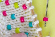 Бусины в вязании