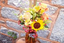 Fall Floral Arrangements / Arrangements for a Fall Tablescape