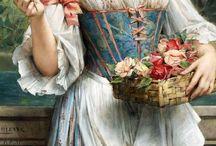 18世紀ドレス