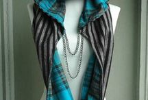 Scarf with hoodie