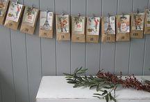 Homemade advent calendars / Ideas for DIY
