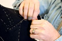 Tailoring / Pictures from our Tailor education.