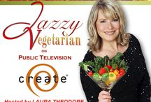 Watch Laura Theodore on the CREATE Channel! / Laura Theodore the Jazzy Vegetarian can be seen on the CREATE Network.