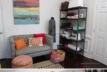 Craft/sewing rooms/studios