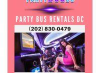 Party Bus DC Rental