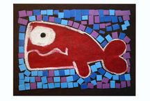 Red whale / Fish art7