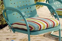 Eclectic Outdoor Furniture / Eclectic outdoor furniture ideas.