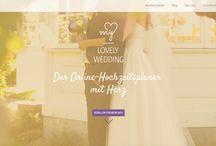 my LOVELY WEDDING - Der Online-Hochzeitsplaner mit Herz / my LOVELY WEDDING hat alles, was ihr braucht, um eure Traumhochzeit stressfrei und bequem selbst zu planen. Die Seite ist mit viel Herzblut und Liebe entstanden, um zukünftigen Brautpaaren das Leben während der Planung ihrer Hochzeit leichter zu machen. my LOVELY WEDDING begleitet euch bei der Vorbereitung und Organisation eures großen Tags. Das Ganze ist für euch völlig kostenlos!