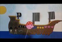 Piratas del Caribe / actividades relacionadas con la película piratas del Caribe.