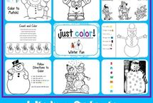 Homeschool: Winter / educational activities, crafts, teaching ideas, thematic units related to Winter / by Kim @ HSKids & Families