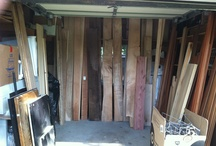 The Wood Shop! / Our tiny woodshop with big dreams!