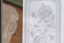 filet crochet patterns ,<1> ,Mary Armouti / patterns