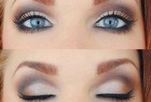 maquillajes y peinados