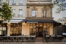 Le Lieu / Le pavillon de hôtel particulier de Sagonne, né en 1667 face à la Bastille, est repensé en maison contemporaine et gourmande. La demeure bastilloise aujourd'hui nommée Le Beaumarchais assouvit les envies des gourmets du jour et des épicuriens du soir… 21 Boulevard Beaumarchais, Paris 4ème 01 49 96 47 00