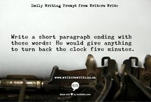 Short story prompt
