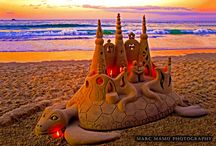 sochy  z  písku