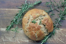 Homemade Breads / Bread recipes - #homemade #bread / by Becky at Crafty Garden Mama