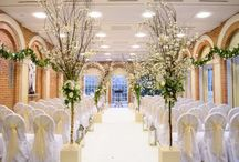 Winter weddings at Great Fosters / winter weddings galore!