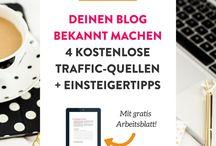 Bloggen / Die Sammlung für meine Hauptbeschäftigung: Mein Blog!