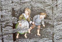 Sprookjes: Hans en Grietje.