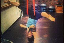 Aerail yoga ❤️