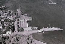 Widerøe bilder fra Larvik