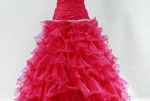 Společenské šaty - červená