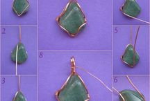 Sea stones / Wire wrapping