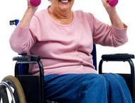 wheelchair exercises / by Cynthia Walters