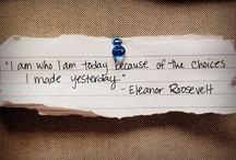encouraging words.