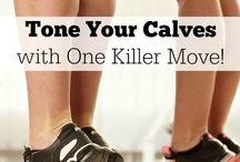 Calf training / Tone calves
