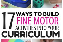 Homeschooling | Fine Motor / My favorite crafts, activities, tips, tricks, ideas, and lessons to help you teach your kids fine motor skills.