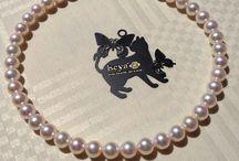 10.0mm-9.5mm Japanese Akoya Sea Pearl Necklace. / Design and Quality iseya of Japan  http://www.iseya-japan.com