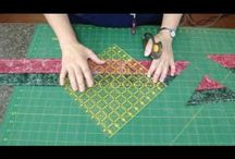 Quilting - hourglass tutorial