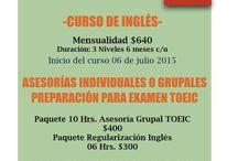 Inglés / Cursos
