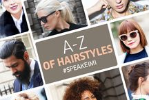 Say Style, #SpeakEIMI / With EIMI you can truly be yourself, say what you say and shout it out: interpreting the latest global trends, setting new accents of style and originality. EIMI moulds and empowers, shapes and inspires: In a word, Individuality.  Discover our A-Z of hairstyles, celebrating all that EIMI embodies!
