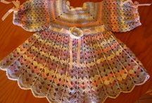 crochet para princesas / hermosos vestiditos de ganchillo,crochet para vestir nuestras princesas