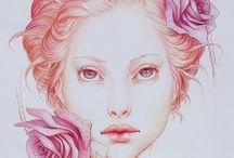 Jennifer Healy / Coloured pencil artist