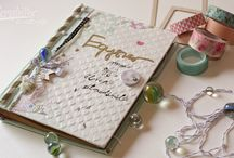 Ideas - altered book scrapbooking