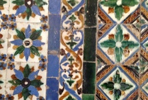 Tiles from Sevilla and more / Tiles of Sevilla and other places