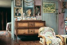 Vanessa Bell - Charleston- Bloomsbury Group / All around